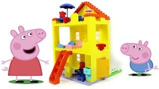 Обзор конструктора Любимый дом Свинки Пеппы (Peppa Pig Peppa's House)