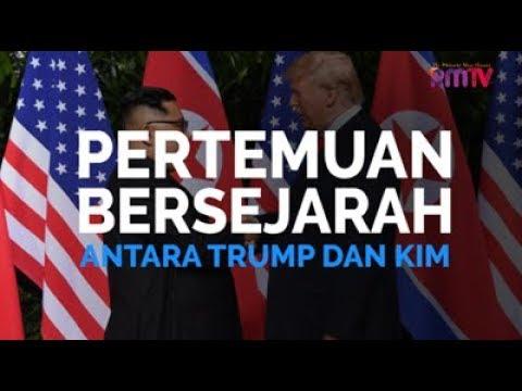 Pertemuan Bersejarah Trump dan Kim