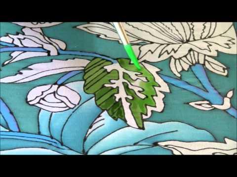 Silk painting 2