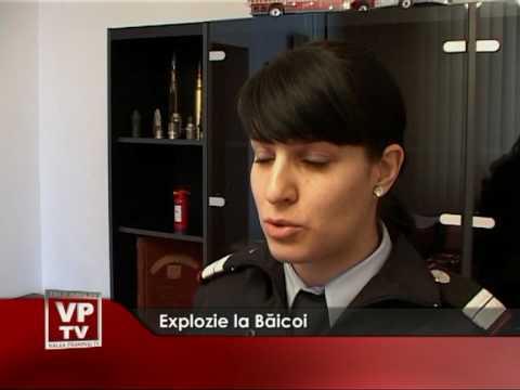 Explozie la Baicoi