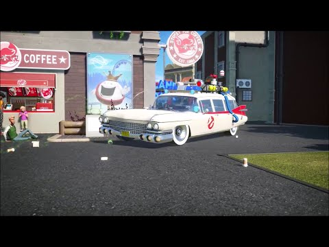 Planet Coaster Ghostbusters DLC Trailer - Park-Simulation - Videospiel - Videogame