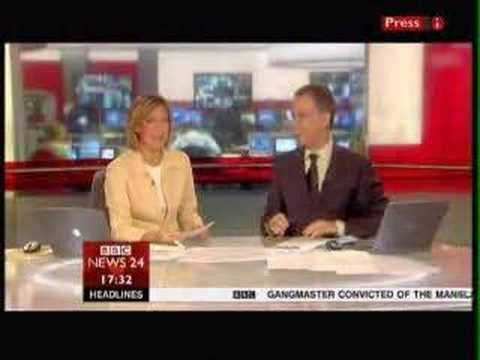 BBC News 24 Announcer Gaffe