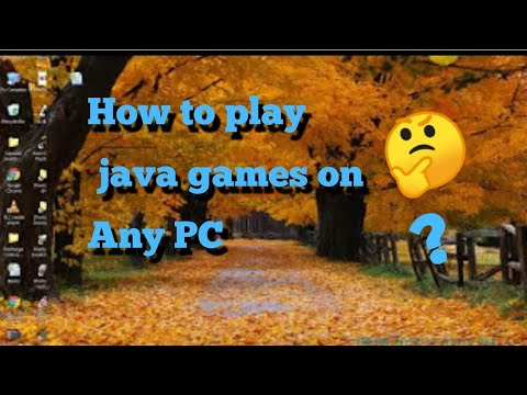 How to run any java games on your pc. leagully no hack.