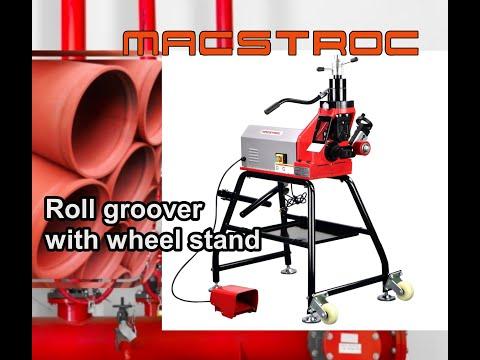 Roll grooving machine UAE - #Macstroc #Steed12D2  #12inch pipe grooving machine