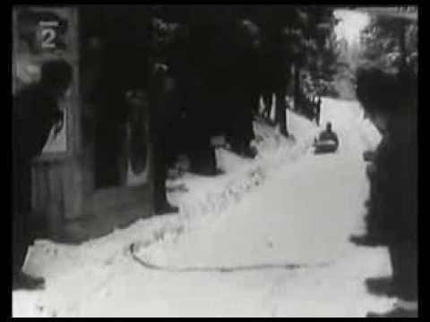 Závody dvojbobov v Tatranskej Lomnici (1955)