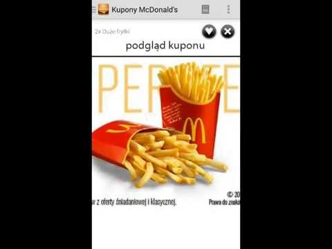 Video of Kupony McDonald's