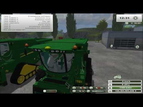 John Deere S690i Mod Vorstellung Farming Simulator 2013
