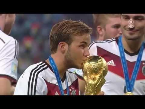 Siegerehrung vom WM Finale 2014 | Deutschland vs. Argentinien (1:0)