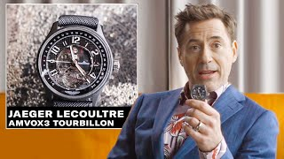 Video Robert Downey Jr. Shows Off His Epic Watch Collection | GQ MP3, 3GP, MP4, WEBM, AVI, FLV Mei 2019