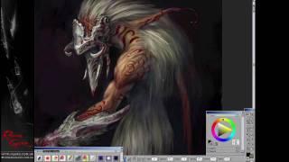Roman Guro: Concept art (Greyhead monster)