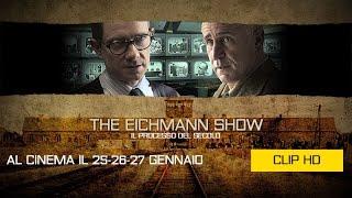 THE EICHMANN SHOW - Il GIORNO DELLA MEMORIA - Se ne sta seduto lì - Clip HD