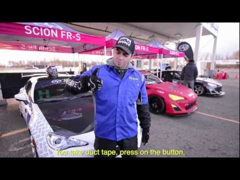 Motorsports in Canada - The Scion FR-S Tuner Challenge - The Gymkhana Challenge!