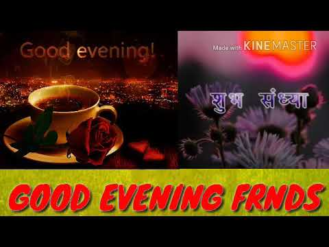 Good evening messages - Good Evening Videos WhatsApp Status And Beautiful Wishes For You
