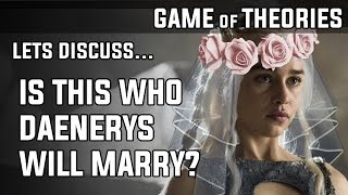 In this video we take a look at who Daenerys Targaryen will marry and what political benefits she would get from each husband.