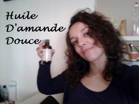 comment appliquer huile d'amande douce sur les cheveux