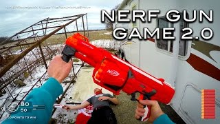 Video Nerf meets Call of Duty: Gun Game 2.0 | First Person in 4K! MP3, 3GP, MP4, WEBM, AVI, FLV Mei 2019