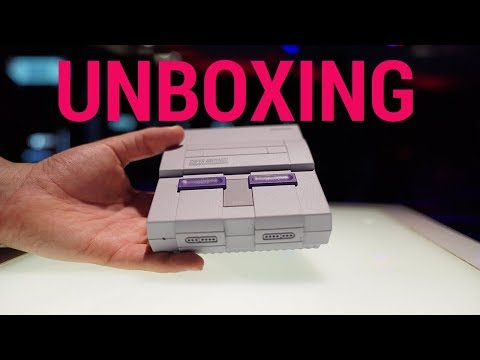 SNES Classic Edition Unboxing - \