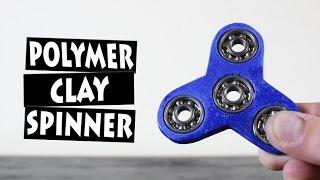 Video DIY Hand Spinner Fidget Toy from Polymer Clay MP3, 3GP, MP4, WEBM, AVI, FLV November 2017