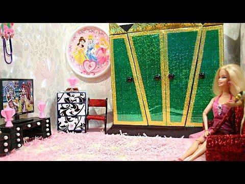 Видео как сделать дом для кукол своими руками из коробки