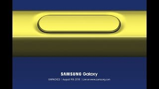 Samsung Unpacked August 2018   Live Replay