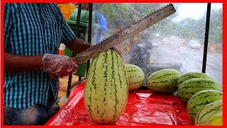 FRUIT NINJA of FRUITS | Amazing Fruits Cutting Skills | Indian Street Food In 2019
