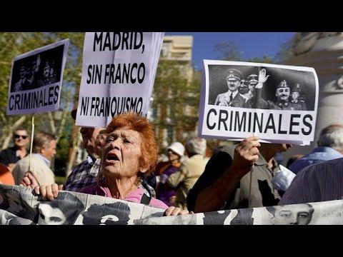 Spanien: Franco-Leichnam darf exhumiert & umgebettet  ...
