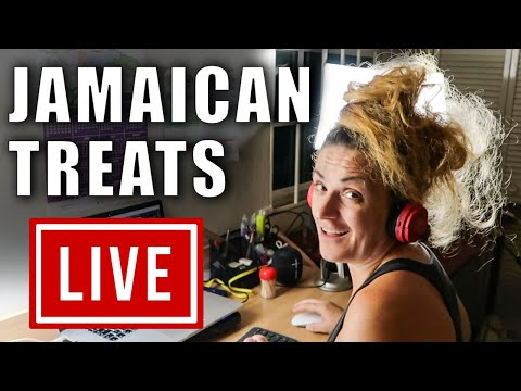 LIVE: Ask Me Anything while I'm TASTING JAMAICAN TREATS!