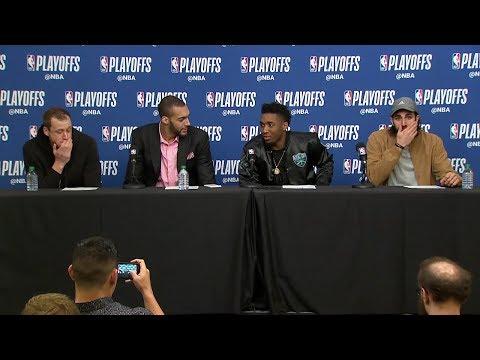 Utah Jazz Postgame Interview | Thunder vs Jazz - Game 4 | April 23, 2018 | 2018 NBA Playoffs