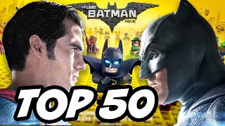 Lego Batman TOP 50 Easter Eggs - Justice League and Suicide Squad