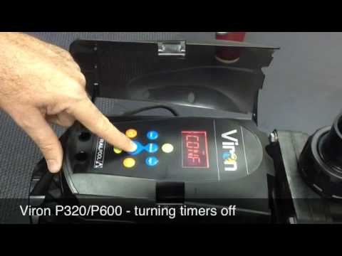 P320/P600 - Turning Timers Off
