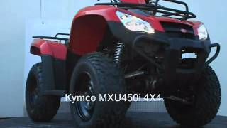 9. Kymco MXU450i 4X4