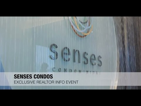 Senses Condos Exclusive Realtor Info Event