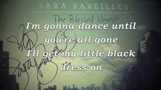 Sara Bareilles - Little Black Dress Lyrics (HD)