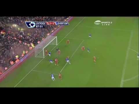 Tim Cahill vs Liverpool