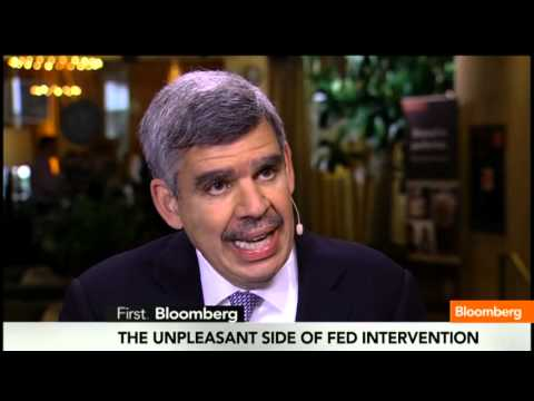 economy - April 29 (Bloomberg) -- Mohamed El-Erian, CEO and Co-Chief Investment Officer at PIMCO, discusses Federal Reserve easing and its affect on the U.S. economy. ...
