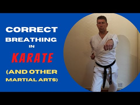 Correct Breathing In Karate (and other martial arts)
