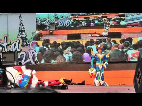 Cosplay Contest in Japan Festa in Bangkok 2010 Team 7: Rockman X7