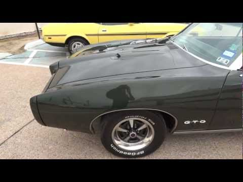 1969 Pontiac GTO Classic American Musclecar