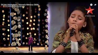 Video Dil Hai Hindustani | Simran's Mimicry Skills MP3, 3GP, MP4, WEBM, AVI, FLV Oktober 2018