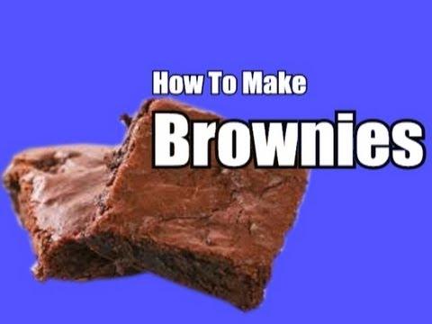 How to Make Homemade Chocolate Brownies