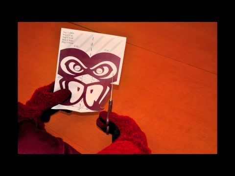 Fairmont State University - How To Make A Falcon Mask