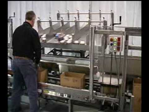 Ergopack HM Product Shelves Frozen Treats Hand Packing Station