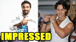 Remo D'Souza is impressed with Tiger Shroff's dance