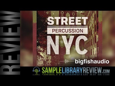 Review: Street Percussion NYC by Big Fish Audio