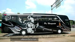 "Video Keren..!!! Bus HARYANTO Terbaru ""Satria Pringgondani""  Livery Baru review interior exterior MP3, 3GP, MP4, WEBM, AVI, FLV Februari 2018"