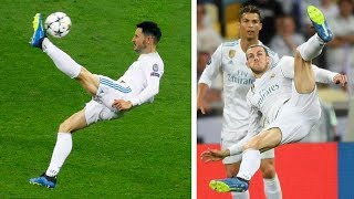 Video SCORING GARETH BALE'S INCREDIBLE BICYCLE KICK GOAL!!! UCL FINAL | Real Madrid vs Liverpool MP3, 3GP, MP4, WEBM, AVI, FLV Agustus 2018