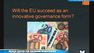 Kathleen McNamara - It's the Politics, Stupid: Explaining the Eurocrisis - 11/05/12