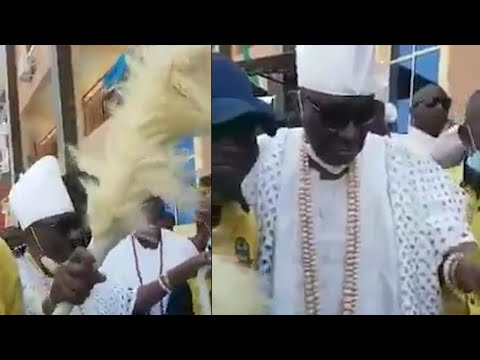 OBA OF LAGOS RILIWAN AKIOLU REJOINS HIS PEOPLE