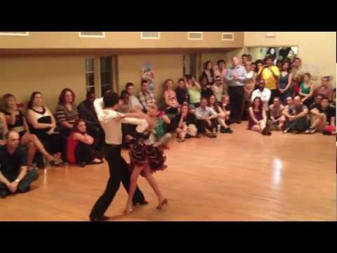 Joey Doble - Dance With Us Ottawa students Joey and Stephanie are performing Paso Doble at Rahims Salsa Friday Anniversary Party, August 17th 2012. www.dancewithusottawa....