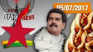 """Para quem acha que o Brasil está ruim, mais uma vez a Venezuela nos mostra que poderíamos estar em uma situação ainda pior...Compre seu Otarinho http://canaldootario.com.br/store/CAMISETAS http://canaldootario.com.br/loja2/SE INSCREVE AÍ NESSA BAGAÇA http://bit.ly/2dlmOXnTORNE-SE MEU PATRÃO ;-) http://www.patreon.com/CanalDoOtarioDOAÇÕES http://www.canaldootario.com.br/doacoes/Acesse o site http://CanalDoOtario.com.brLojinha do Canal do Otário http://canaldootario.com.br/store_Utilize o código: CANALDOOTARIO na primeira corrida do UBEREste código oferece uma viagem com desconto de até R$20 para novos usuários. O código é válido até 31/12/17 e é exclusivo para novos usuários.Abaixo segue um passo a passo para o uso do código.1º Baixar o Uber e/ou abrir o aplicativo http://ubr.to/2cxGDbL 2º Clicar no menu superior esquerdo (três traços do canto superior esquerdo).3º Clicar em promoções.4º Clicar em """"Adicione um código promocional"""".5º Escrever CANALDOOTARIO e clicar em aplicar.Para mais informações, fontes e links extras acesse:http://www.canaldootario.com.br/videos/novo-mensalao-mais-uma-do-nicolas-maluco-e-recordista-de-cachorro-quente-canaldootario/Bolha imobiliária?! Onde?! Bum!!!https://www.youtube.com/watch?v=Oxcfw7HJ68E Comprar ou alugar um imóvel?!https://www.youtube.com/watch?v=xmtpI7niGYE Agradecimentos Especiais aos Patrões:Bruno BezerraDelcio JuniorRafael CostaMarcelo FerreiraAndré CastroRafael AmorimPlínio DutraEdu CruzDaniel LacerdaFlávio AbraãoLuciano CamposR SouzaObrigado, Patrões! O apoio financeiro ao Canal através do Patreon, está sendo fundamental para manter o Canal vivo e fazer vídeos como este!___Música e efeitos sonoros:Diego Vilas Boas"""